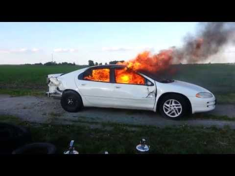 Extinguishing vehicle with Fire Cap Plus foam