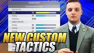 UPDATED CUSTOM TACTICS | TOP 100 CUSTOM TACTICS | FIFA 18 ULTIMATE TEAM