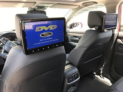 2017 Honda CRV - Headrest DVD Players