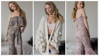 TRY ON CLOTHING HAUL WITH VICI!
