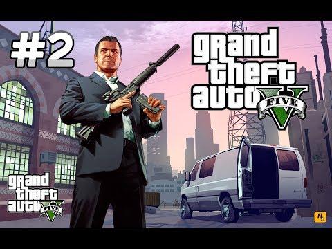 Стрим. #2. Grand Theft Auto V. Прохождение сюжетной линии игры.