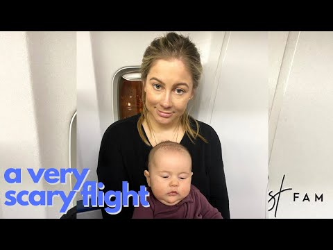 A Very Scary Flight | The East Fam