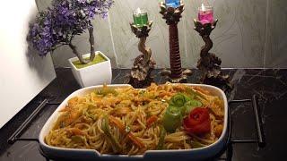 Chicken Spaghettichicken pastachicken Noodlesimple and easy recipe in Urdu and Hindi