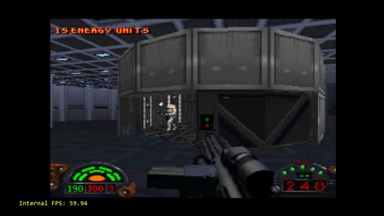 Beetle PSX - CPU Overclocking - Up to 60fps in Star Wars: Dark Forces!