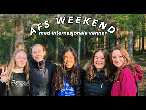 Week in Norway & AFS Weekend!!