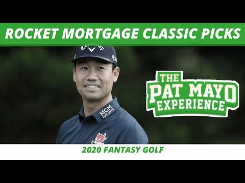 Fantasy Golf Picks - 2020 Rocket Mortgage Classic Picks, Predictions, Odds, One and Done from YouTube · Duration:  1 hour 20 minutes 56 seconds