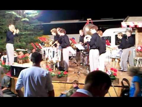 Drumming in Suisse