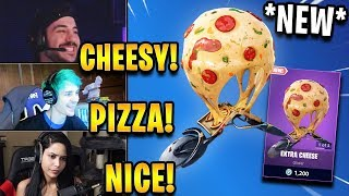 "Streamers React to *NEW* Pizza Glider! ""Extra Cheese"" 