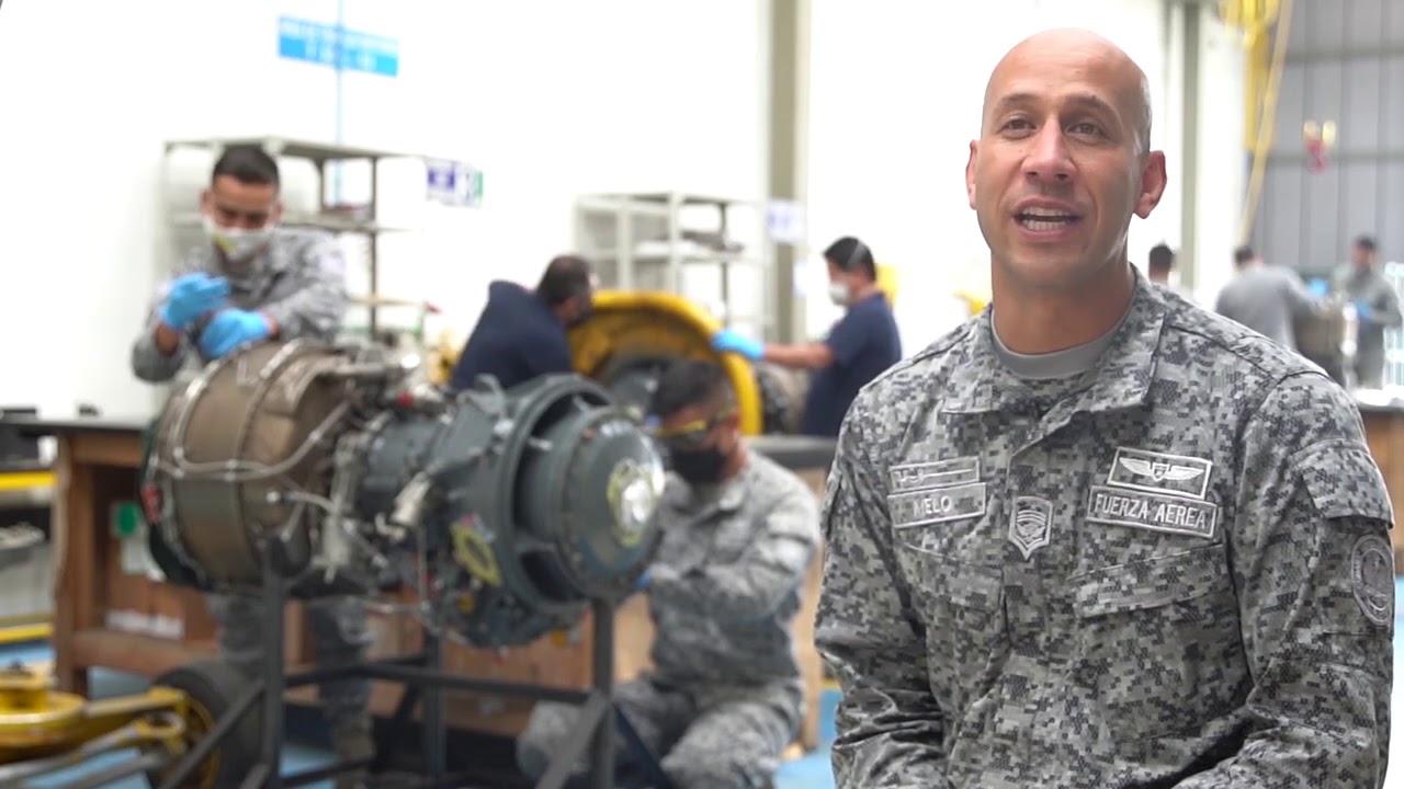 Mantenimiento e industria aeronáutica de su Fuerza Aérea Colombiana / A Volar