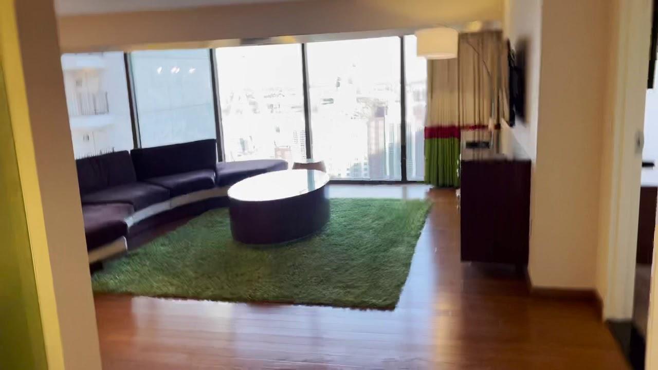 Flamingo Las Vegas 2021 Metropolitan Suite 1 King And 2 Queen Bed Room 25101 Youtube