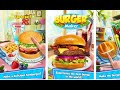 "Fast Food Burger Kitchen Chef ""Maker Labs Inc Casual Games"" Android Gameplay Video"
