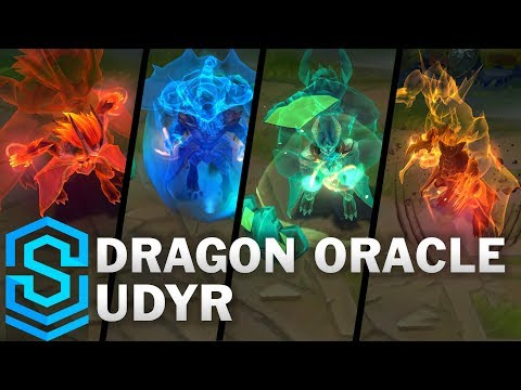 Dragon Oracle Udyr Skin Spotlight - League Of Legends