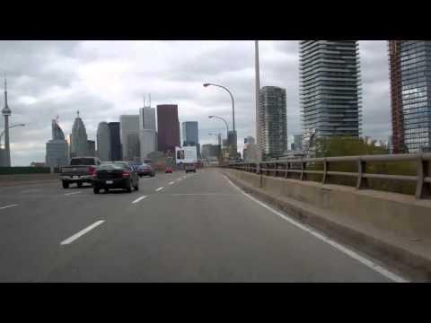 Gardiner Expressway, Toronto, Ontario, Canada