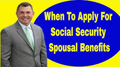 Social Security Spousal Benefits (Case of Bob and Jane)