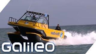 Das steckt hinter dem Anti-Seasick-Boot | Galileo | ProSieben
