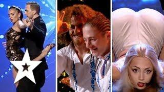 Best Dance Auditions on Romania's Got Talent 2017   Românii au talent (Part One)