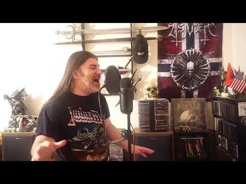 "Judas Priest "" Blood Red Skies "" ( vocal cover )"