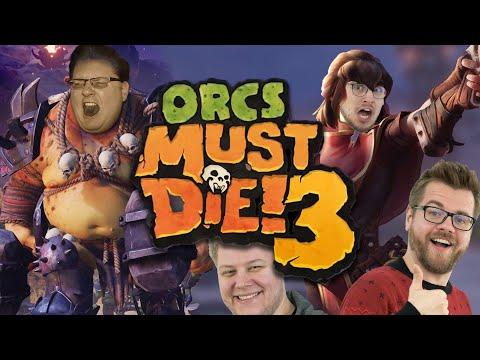 Um die Wette schnetzeln in Orcs Must Die! 3 (Peter zockt vom Klo)
