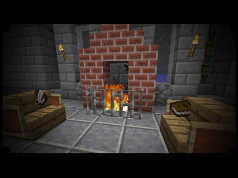 ✔ Minecraft : Comment Faire Une Cheminée !