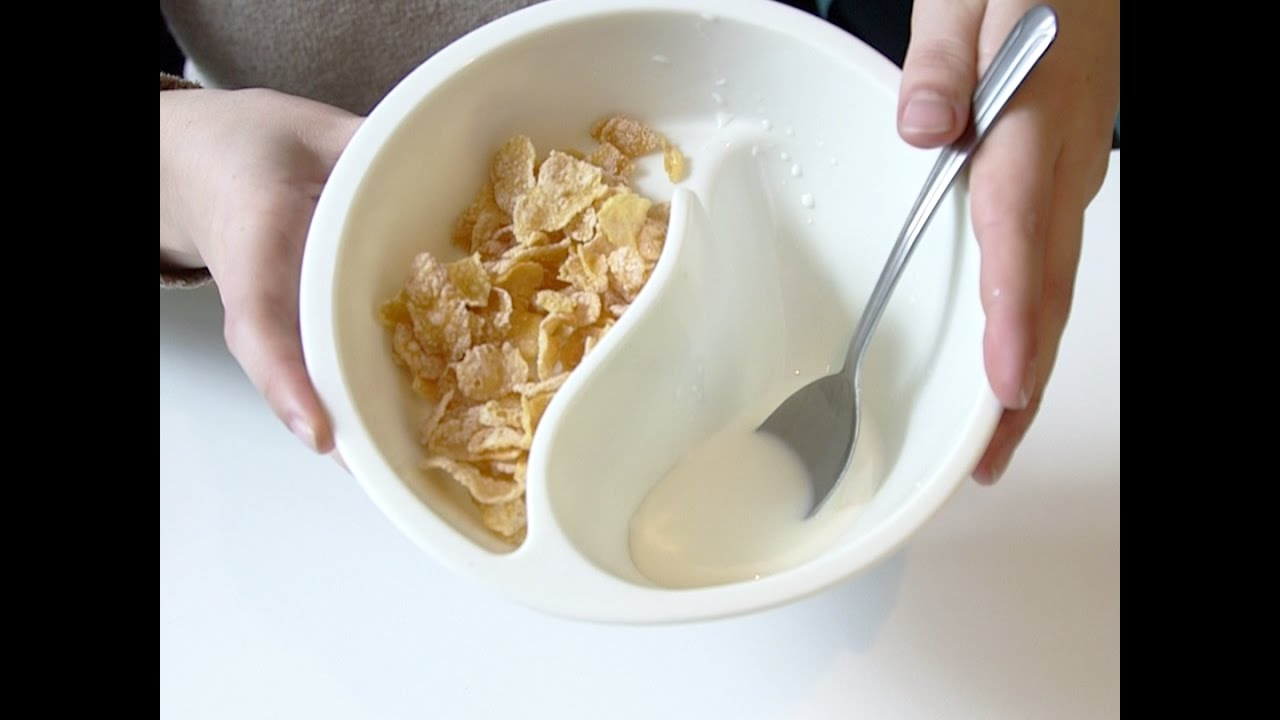 This bowl keeps your cereal from getting soggy youtube this bowl keeps your cereal from getting soggy ccuart Choice Image
