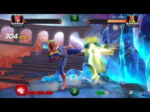 Labyrinth of Legends - og Vision - No Synthesis with Captain Marvel - v 15.1.0