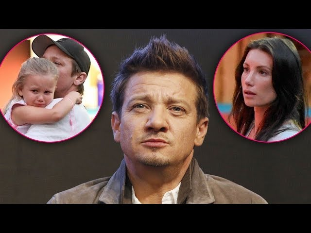 Jeremy Renner accused by ex-wife of biting their daughter as their custody battle gets heated
