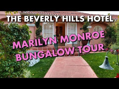THE BEVERLY HILLS HOTEL'S MARILYN MONROE-INSPIRED BUNGALOW