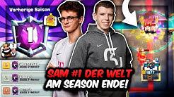 DEUTSCHER PRO SAM ist PLATZ 1 DER WELT am SEASON ENDE! | Unfassbare Matches! | Clash Royale Deutsch