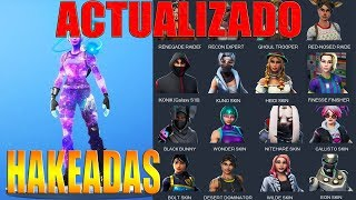 How to get EXCLUSIVE Skins and UPDATED Fortnite PROPERTIES
