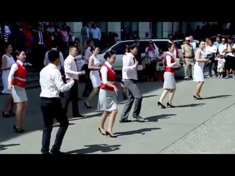 TEDY Center Flashmob Mongolia