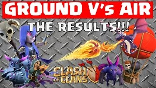 Clash of Clans - Ground V's Air - CLAN WARS RESULT!