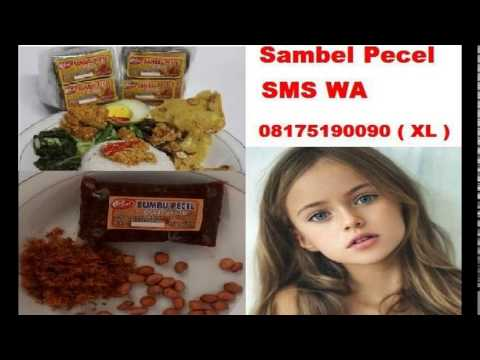 SMS WA 08175190090 Sambal Pecel   Sambel Pecel