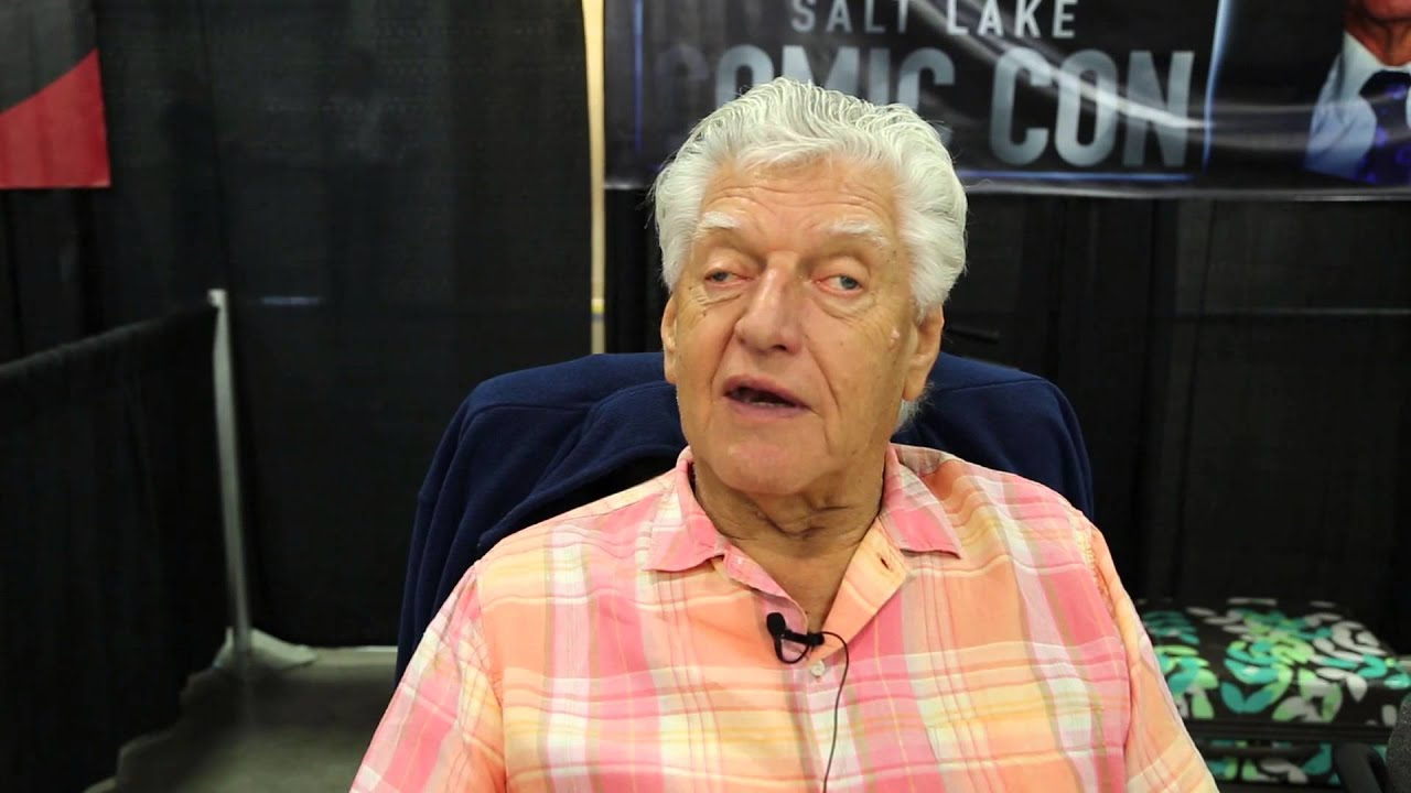 David Prowse - Darth Vader - Interview @ SLC Comic Con ...