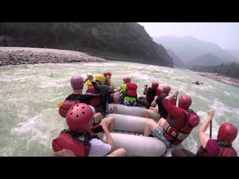 Ganges River Rafting (Guide View) With Red Chilli Adventures