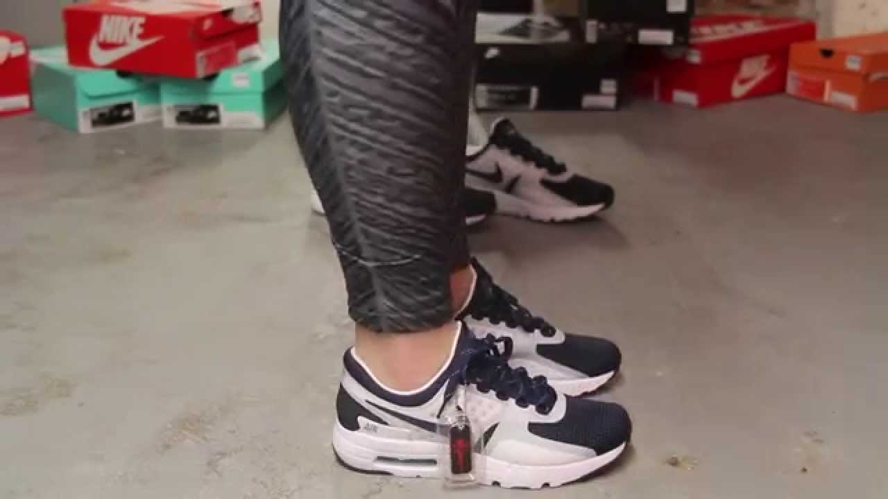 competitive price 4a5af 14de7 Woman s Nike Air Max Zero QS On-feet at Exclucity - YouTube