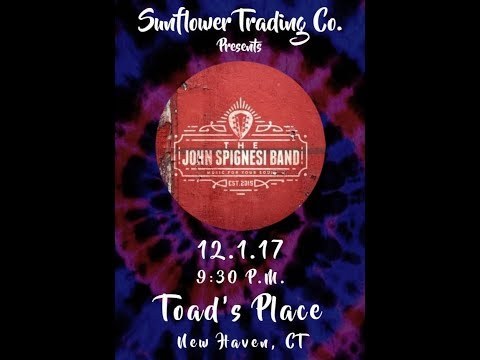 John Spignesi Band - 12/1/17 - Toad's Place - New Haven, CT