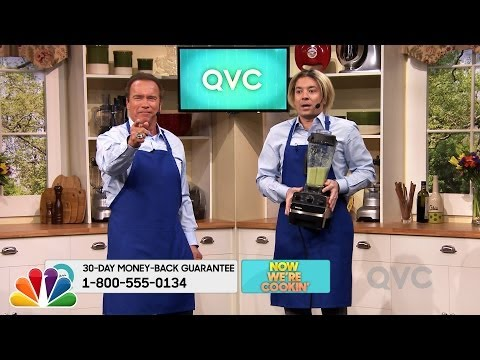 Arnold Schwarzenegger on QVC: 'Get to the Chopper!'