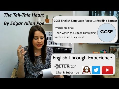 GCSE English Language Extract - The Tell-Tale Heart by Edgar Allan Poe