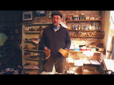 Unintentional ASMR 👞 Traditional English Clog Maker / Wood Shoemaker