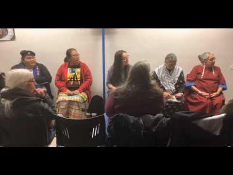 Elders speak out at Indigenous Women's Panel
