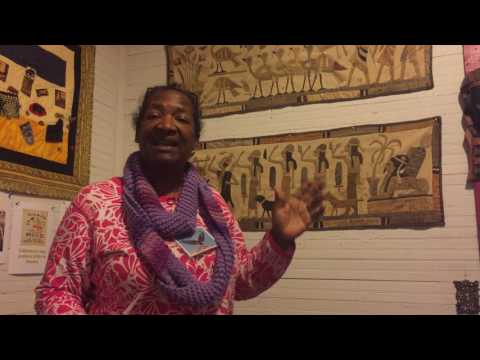 McCormick, SC's Teresa R  Kemp talks about secret quilt