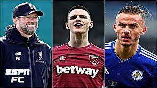 Liverpool transfer targets: Are James Maddison & Declan Rice a good fit at Anfield? | Premier League