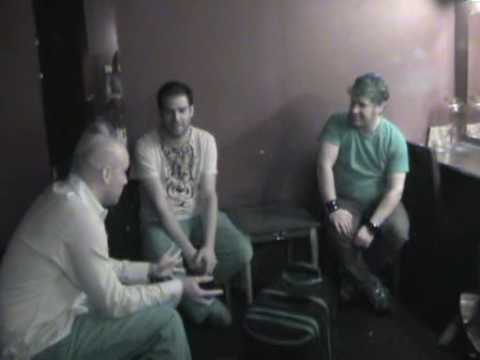 Backstage with Gabriel & Dresden (1.17.08)