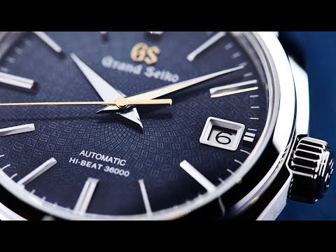 the best attitude b9aae f51ed GRAND SEIKO – Top 4 new models from Baselworld 2018 - YouTube
