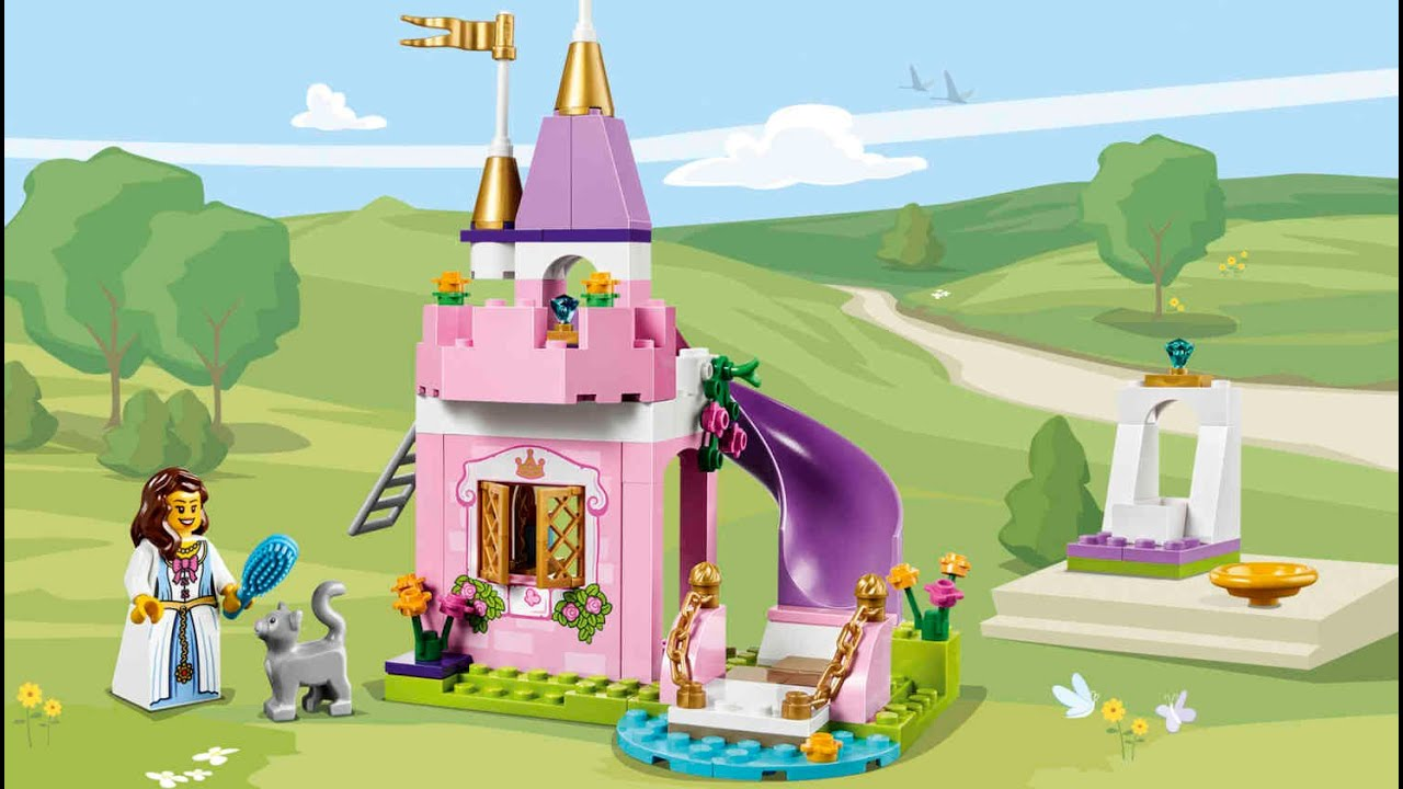lego juniors 10668 the princess play castle youtube