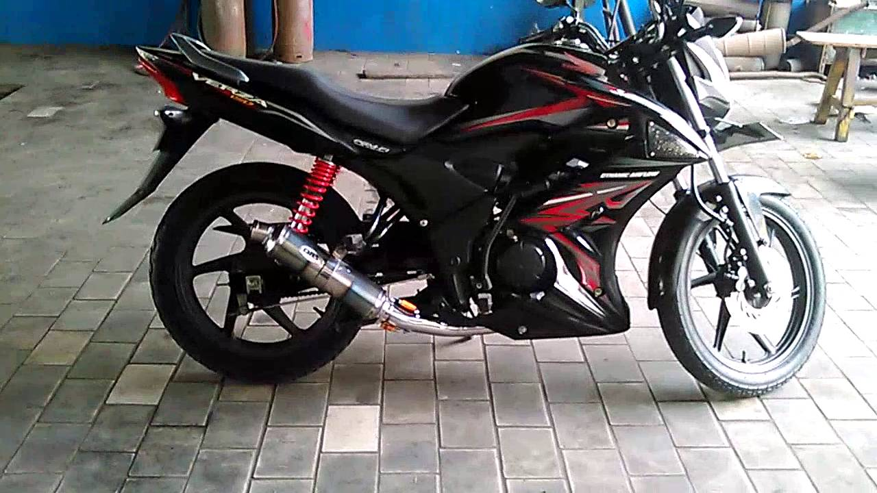 Honda Verza 150 DBS Sound YouTube