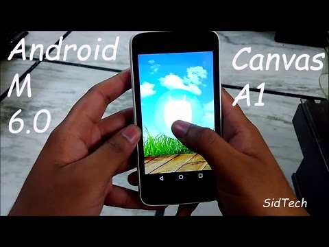 Android Marshmallow 6.0 on Android one (Canvas A1) Review