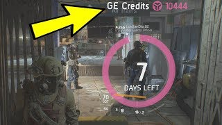 THE DIVISION - EASIEST WAY TO GET GLOBAL EVENT CREDITS! (THE DIVISION PATCH 1.7 TIPS & TRICKS)