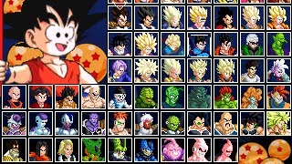 Dragon Ball Z Mugen Edition 2010 by Ristar87