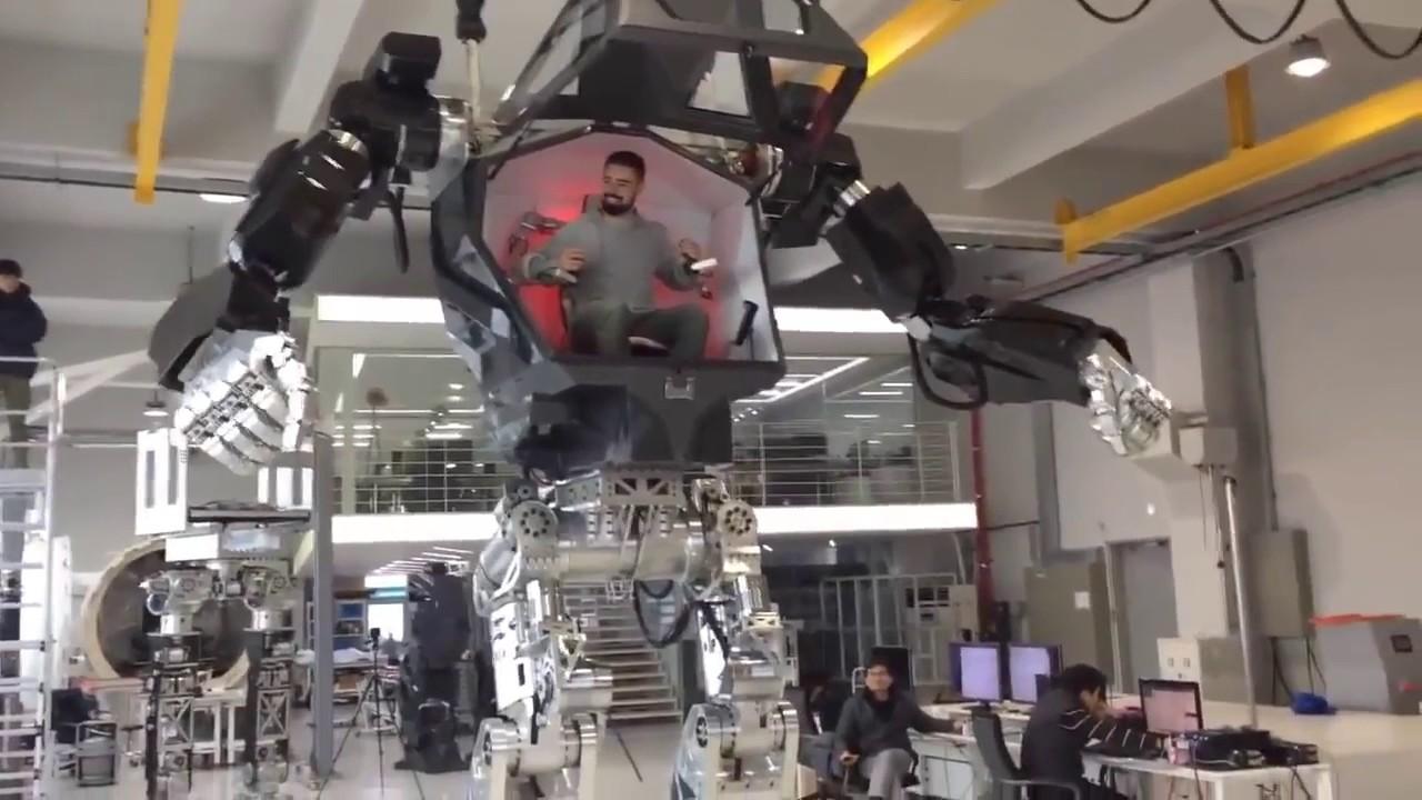 Robot Project By Korea Projet De Robot G Ant En Cor E Du Sud Youtube